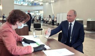 Първи данни: 73% от руснаците не искат да се сбогуват с Путин