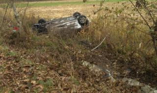Добричлия катастрофира, преобръщайки автомобила си няколко пъти