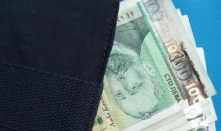 НСИ: Средната заплата е надхвърлила 1300 лева