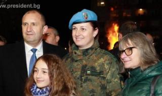 Президентът почете освобождението на Белово