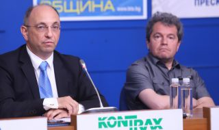 ИТН излезе пред медиите. Но Слави Трифонов беше на работа. - 1