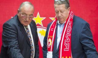 Димитър Пенев пожела нов стадион за рождения ден на ЦСКА