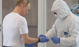 Путин контролира лично битката с Covid-19