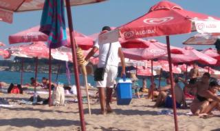 17 плажа ще са с безплатни чадъри и шезлонги