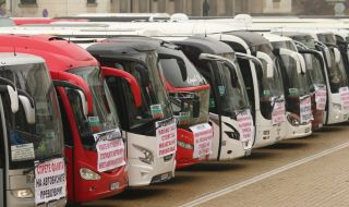 639 автобусни фирми искат 33.3 млн. лв. помощ