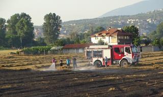 Пожар до Сандански