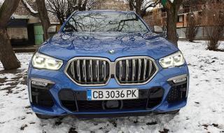 Тествахме новото BMW X6 M50i