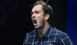 Медведев поднесе голямата изненада - победи Надал и ще играе финал в Лондон