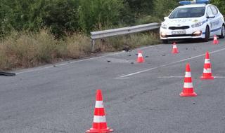 Катастрофа на пътя Русе-Шумен, движението е затруднено