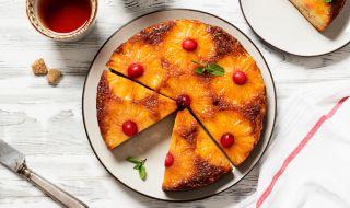 Рецепта на деня: Сладкиш с ананас и карамел