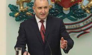 Радев разпуска парламента във вторник и назначава служебно правителство
