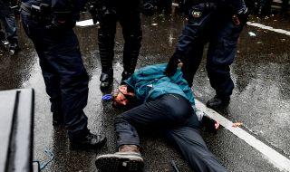 365 души са задържани на протестите в Берлин