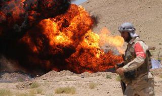 Огнен ад! 7 загинаха, а 14 бяха ранени при пожар на цистерни за гориво в Кабул