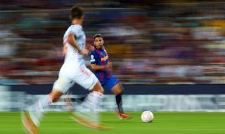 Жорди Алба играл с температура и контузия срещу Байерн Мюнхен  - 1