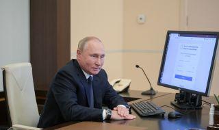 Владимир Путин е гласувал с телефона на свой сътрудник - 1