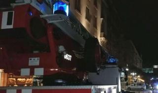 Евакуираха гостите на хотел във Велинград заради пожар