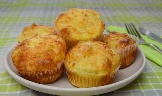 Рецепта на деня: Бързи мъфини със сирене