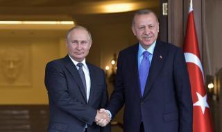 Ердоган се обади на Путин преди офанзивата в Сирия