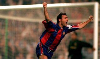Преди точно 31 години Христо Стоичков подписва договор с Барселона