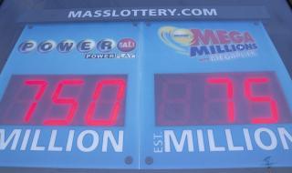 Супер късметлия удари $768 милиона от лотарията