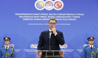 Вучич: Сърбия няма да приема 400 000 мигранти