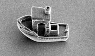 3D лодка, по-малка от дебелината на косъм - 1