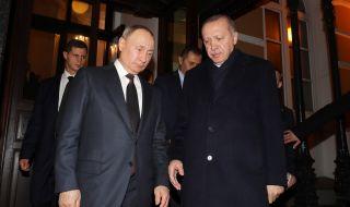 Ердоган иска да даде урок на Израел, ето какво му каза Путин