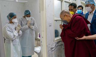 Далай лама призова: Всички да се ваксинират!