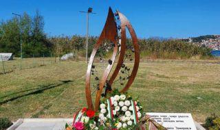Унищожиха паметника на загиналите българи с кораба