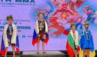 Първи медал за България от световното по MMA