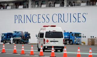 Евакуират стотици от круизния кораб Diamond Princess (СНИМКИ)