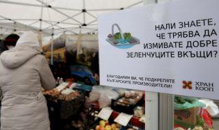 Спад в търсенето на хранителни стоки