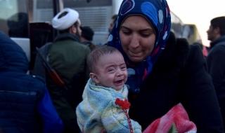 Последните обитатели на Алепо си тръгват