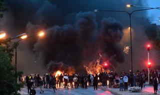 Сблъсъци с полицията след антиислямска акция в Малмьо