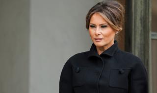 Мелания Тръмп неотразима след коронавируса
