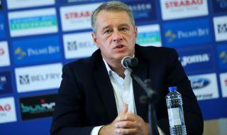 Иво Ивков: Няма да ви лъжа - лицензът на Левски виси постоянно - 1