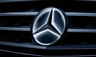 Светещата емблема на Mercedes е опасна