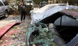 Няколко снаряда се взривиха в центъра на Кабул