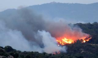 Голям пожар в Каталуния