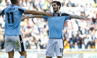 Осем футболисти на Лацио не тренираха преди мача с Брюж