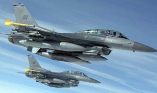 7 F-16 от ВВС на САЩ и български МиГ-29 патрулират над Черно море