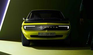 Новата Opel Manta ще има екран вместо предна решетка (ВИДЕО) - 1