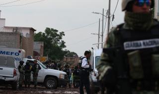 Кървава баня в Мексико