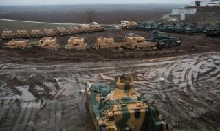 Взривени турски танкове в Сирия