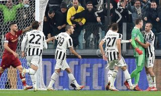 Традиционно: В Торино Ювентус победи Рома с 1:0