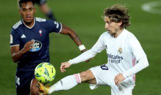 Лука Модрич преподписва с Реал Мадрид