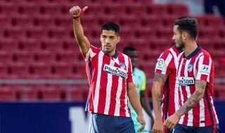 Президентът на Атлетико Мадрид: Суарес е най-добрият нападател в Европа!