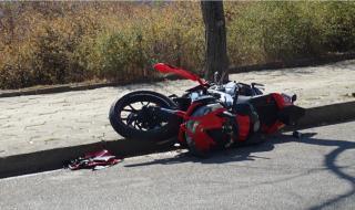 17-годишен рецидивист блъсна жена с мотоциклет и избяга