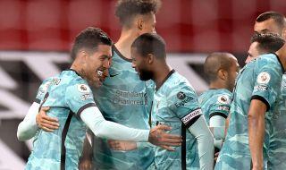 Ливърпул надигра Манчестър Юнайтед в голово шоу
