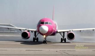 Wizz Air официално поема линията София-Санкт Петербург-София